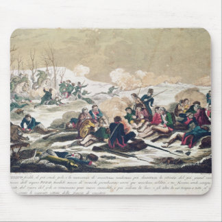 Retreat from Moscow, engraved by J. Hassell Mouse Pad
