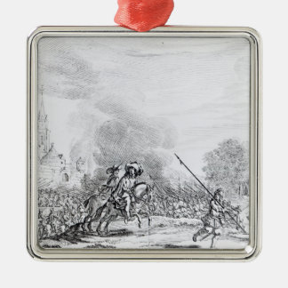 Retreat from the Battle of Worcester Ornaments