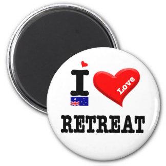 RETREAT - I Love Magnet