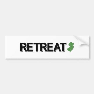 Retreat, New Jersey Bumper Sticker