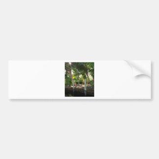 Retreat on Ft Lauderdale's New River Bumper Sticker