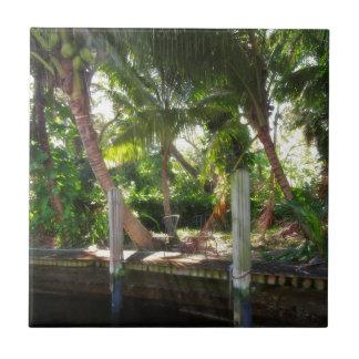 Retreat on Ft Lauderdale's New River Ceramic Tile