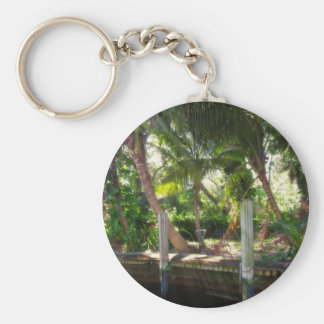 Retreat on Ft Lauderdale's New River Keychain