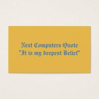 Retreat  Symposium Business Card