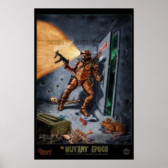 Retreating Excavator :: The Mutant Epoch Poster