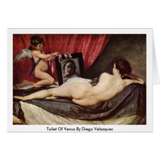 Retrete de Venus de Diego Velázquez Tarjeta De Felicitación