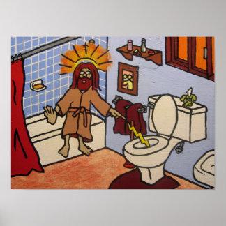 Retrete Jesús Póster
