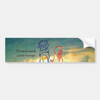 Retribution Product Bumper Sticker