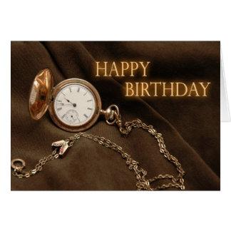 Retrieve Time Birthday Card
