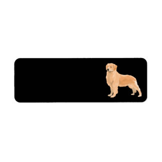 retriever address labels