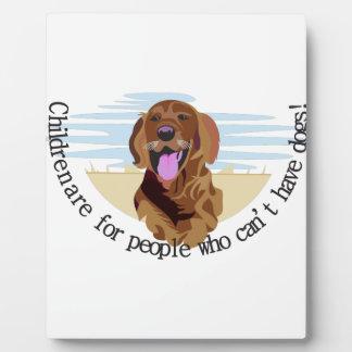 Retriever Dog Plaque