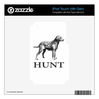 Retriever Hunt Decals For iPod Touch 4G