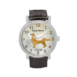 "Retriver de oro ""perro guardián "" relojes"