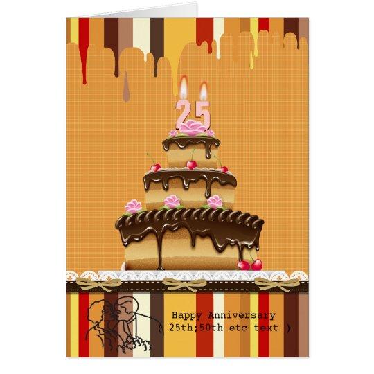 Retro 10-99  Age Any Occasion Cake Invitation