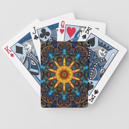 Retro 12 bicycle playing cards