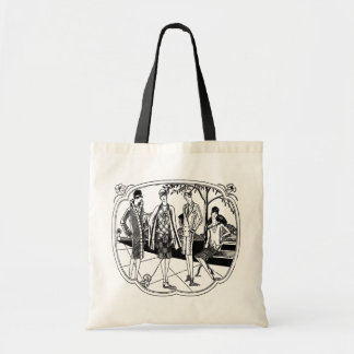 Retro 1920s Fashions Tote Bag