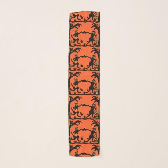 Retro 1920's style art , primitive scarf
