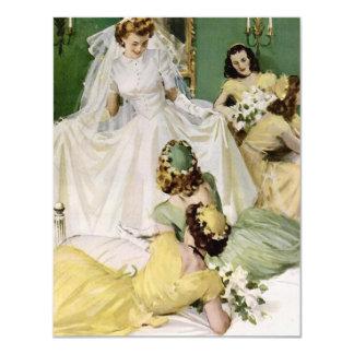 Retro 1940s Bridal Shower Card