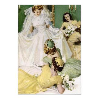 Retro 1940s Bridal Shower V2 Card