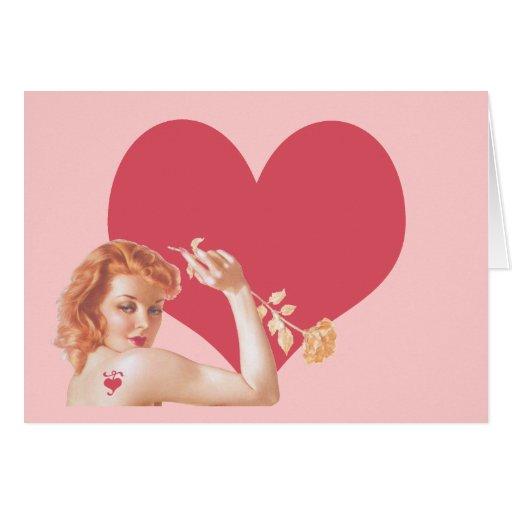 Retro 1940s Love Cards