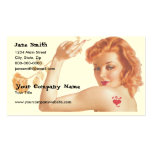 Retro 1940s Love Double-Sided Standard Business Cards (Pack Of 100)