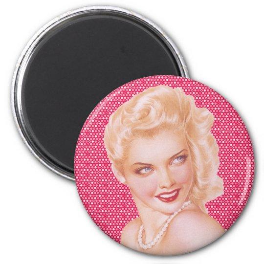 Retro 1940s Love Magnet