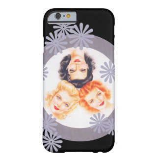 Retro 1940s Pinup Girls Barely There iPhone 6 Case