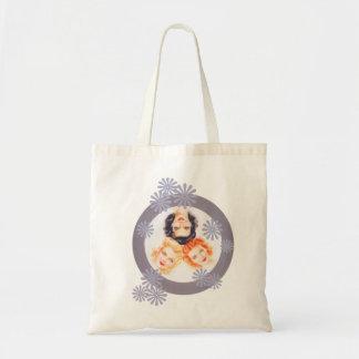 Retro 1940s Pinup Girls Budget Tote Bag