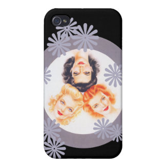Retro 1940s Pinup Girls iPhone 4 Case