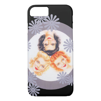 Retro 1940s Pinup Girls iPhone 8/7 Case