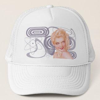 Retro 1940s Pinup Trucker Hat