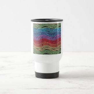 Retro 1950 / 1960 Pop-Beads Coffee Travel Mug