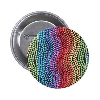 Retro 1950 / 1960 Pop Beads Pin