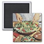 Retro 1950 Food Magnet 1
