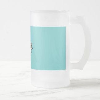 Retro 1950 Martini Man Glass Coffee Mugs