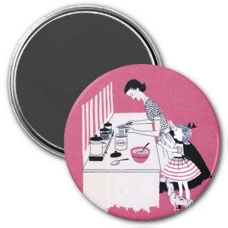 Retro 1950's Baking Magnet