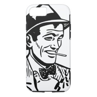 Retro 1950's Cartoon-Style Man iPhone 8/7 Case