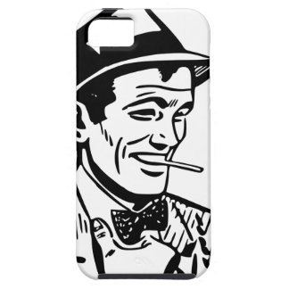 Retro 1950's Cartoon-Style Man iPhone SE/5/5s Case