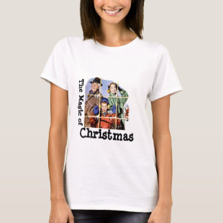 Retro 1950s Christmas Magic T-Shirt