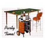 Retro 1950s Fun and Games Birthday Personalized Invitation