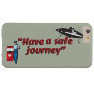 "Retro 1950s gas station attendant: ""Safe journey""… Barely There iPhone 6 Plus Case"