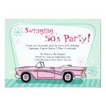 Retro 1950's Invitation