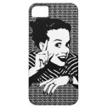 Retro 1950s Scolding Woman iPhone 5 Covers