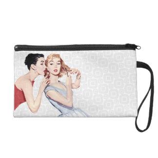 Retro 1950s Women Gossipers Wristlets
