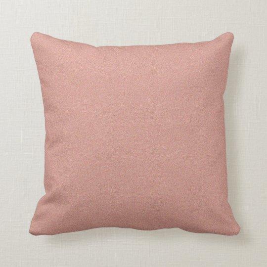 Retro 1956 Deep Pink Mid-Century Modern Throw Pillow
