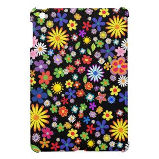 Retro 1960-x colorful Flower Power iPad Mini Cover