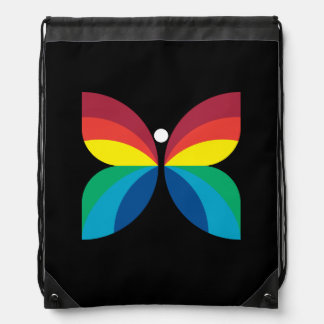 Retro 1966-1974 drawstring backpack