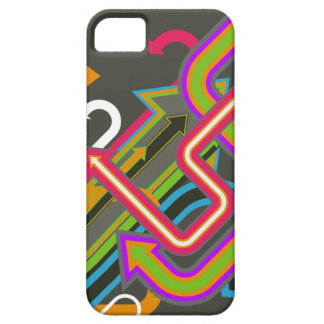 Retro 1980's random arrows iPhone 5 case