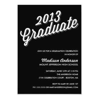 RETRO 2013 | GRADUATION PARTY INVITATION