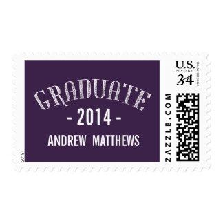 Retro | 2014 Graduation Postage Stamps